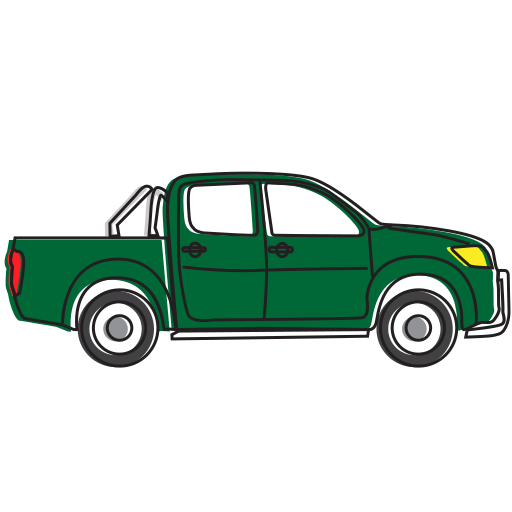 auto, automobile, car, delivery, pickup, transport, transportation, truck, vehicle icon