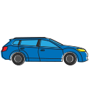 adventure, auto, beach, car, holiday, summer, tourer, tourism, transportation, travel, vacation, vehicle icon