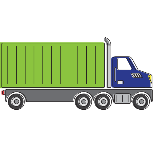automobile, car, cargo, delivery, transport, transportation, truck, vehicle icon