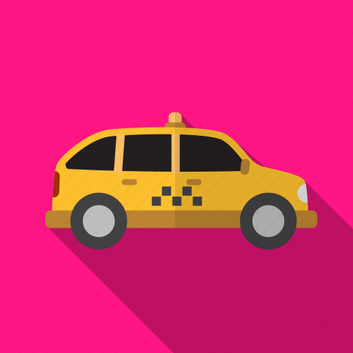 delivery, drive, service, taxi icon