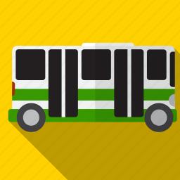 bus, public, transport, transportation icon