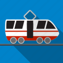 railway, train, tram, transport, transportation icon