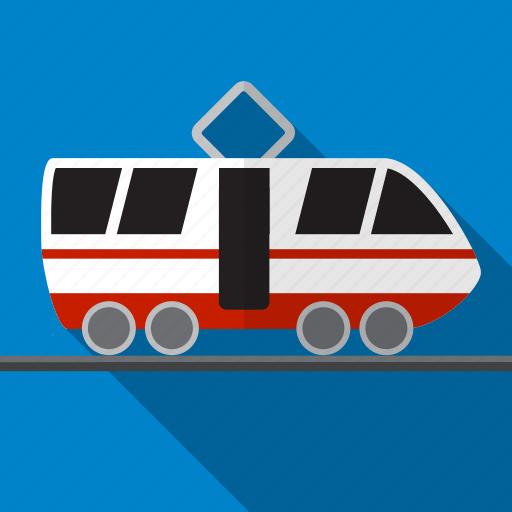 railway, train, tram, transport, transportation icon