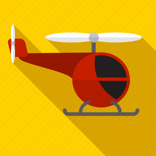 fly, helicopter, shadow, sky, transport icon
