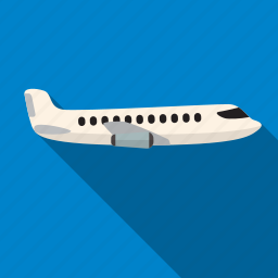 air, aircraft, flight, fly, plane, travel icon