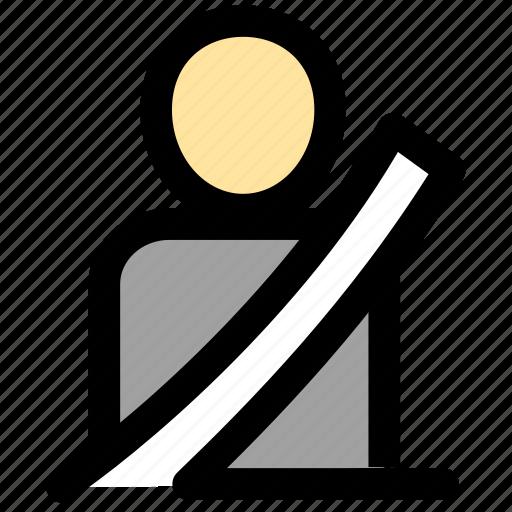 safe, safety, seat belt, seatbelt icon
