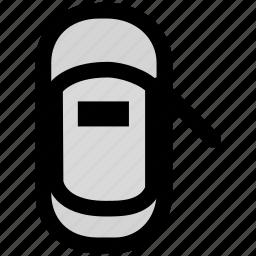 auto, car, door icon