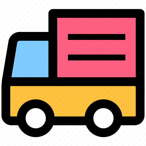 cargo, delivery, goods, shipping, transport, transportation, truck icon