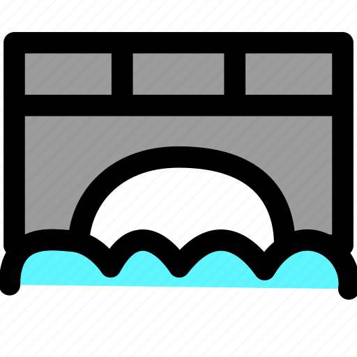 bridge, building, construction icon