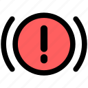 alert, car, car warning icon
