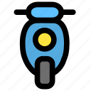 bike, moto, motorbike, motorcycle, scooter, transport icon