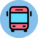 bus, car, public, transport, transportation, travel, van, vehicle icon