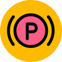 car, parking, vehicle icon