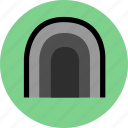 cave, tunnel icon