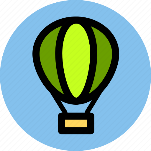 fire balloon, journey, tourism, travel, trip, vacation icon