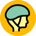 car, hat, helmet icon