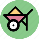 car, construction, vehicle icon