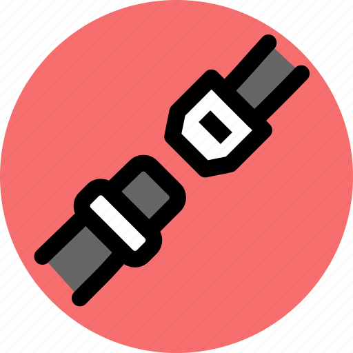 car, seat belt, vehicle icon
