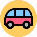 bus, coach, public, transport, vehicle icon