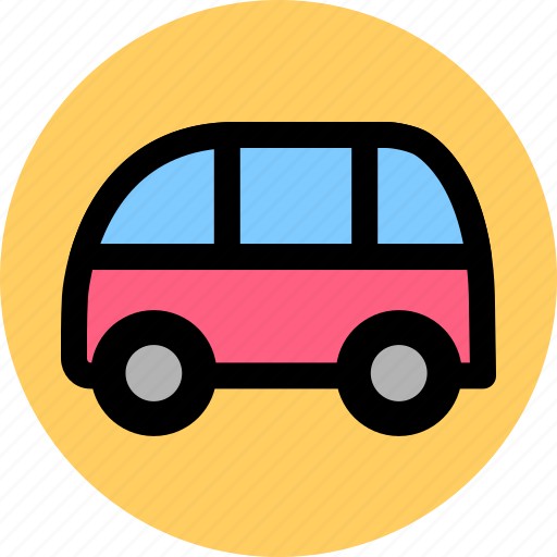 bus, coach, public, transport, vehicle icon