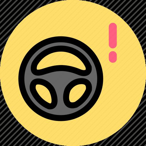 car, steering, steering wheel, wheel icon