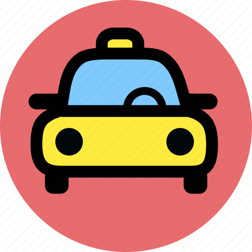 automobile, car, taxi, vehicle icon