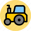 farm, farming, tractor icon