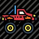automobile, bigfoot, car, transportation, truck