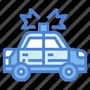 car, emergency, police, security, vehicle