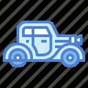 automobile, car, retro, vehicle, vintage
