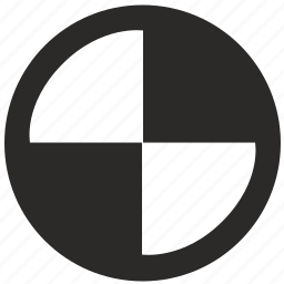 auto, bmw, brand, car, label, round, sign icon