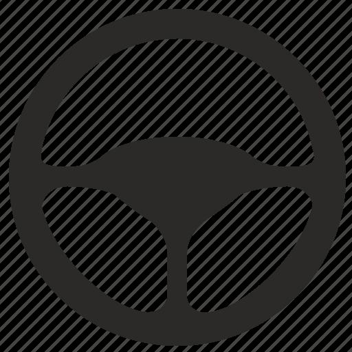 automobile, car, control, drive, driving, road, wheel icon