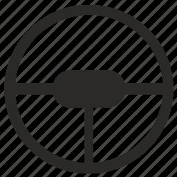 automobile, car, classic, drive, retro, wheel icon