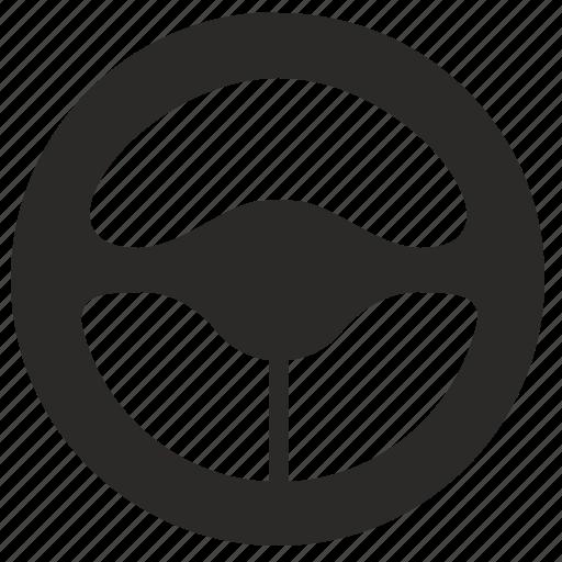 auto, car, drive, taxi, transport, wheel icon