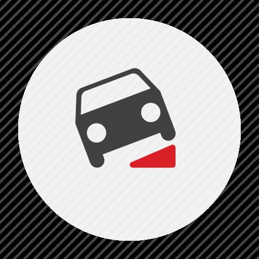 breakdown, car icon