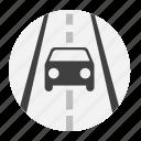 car, way icon