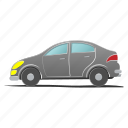 auto, automobile, car, engine, hatchback, traffic, transport icon