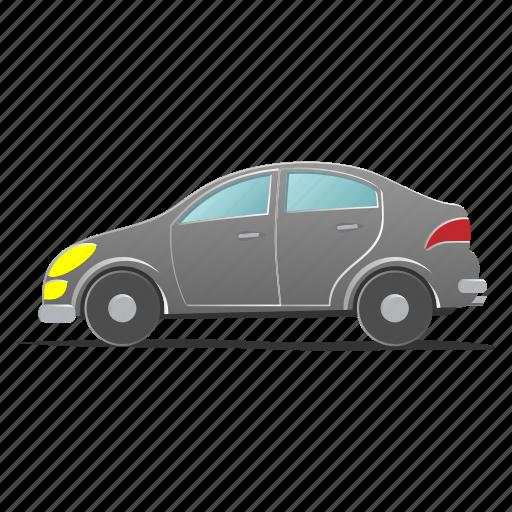 auto, automobile, car, engine, hatchback, traffic, transport icon