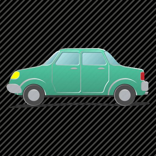 auto, automobile, car, engine, motor, sedan, traffic icon