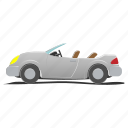 auto, automobile, cabriolet, car, convertible, engine, single icon