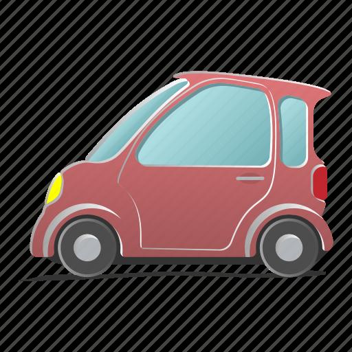 automobile, car, coupe, mini, transport, vehicle, wheel icon