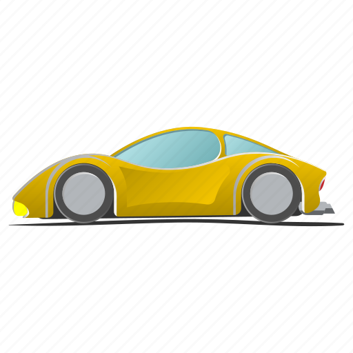 car, drawing, fun, sport, sportscar, toy, vehicle icon