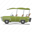 car, electra, game, golf, play, recreation, spring icon