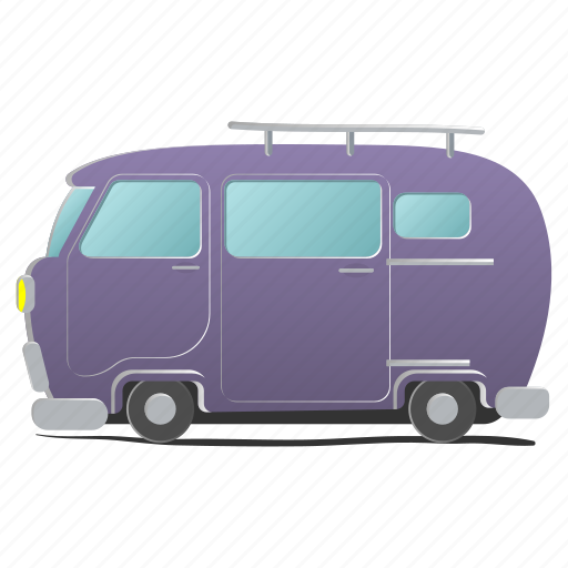 car, delivery, funny, transport, truck, van, vehicle icon