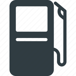 fuel, gas, gasoline, standing, station icon