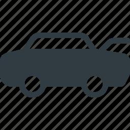 car, hood, open icon