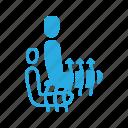 heating, seat icon