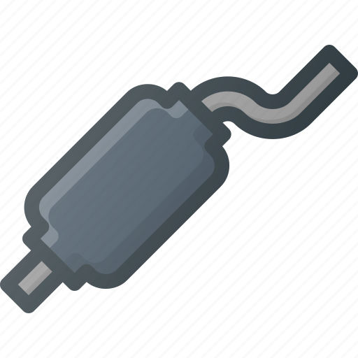 accessories, car, component, exhaust, part, vehicle icon