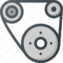 car, component, gear, gears, part icon