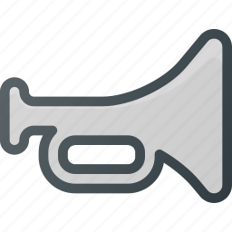 accessories, car, horn, noise, trumpet icon
